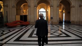 Bernard Latarjet à la chambre de commerce de Marseille